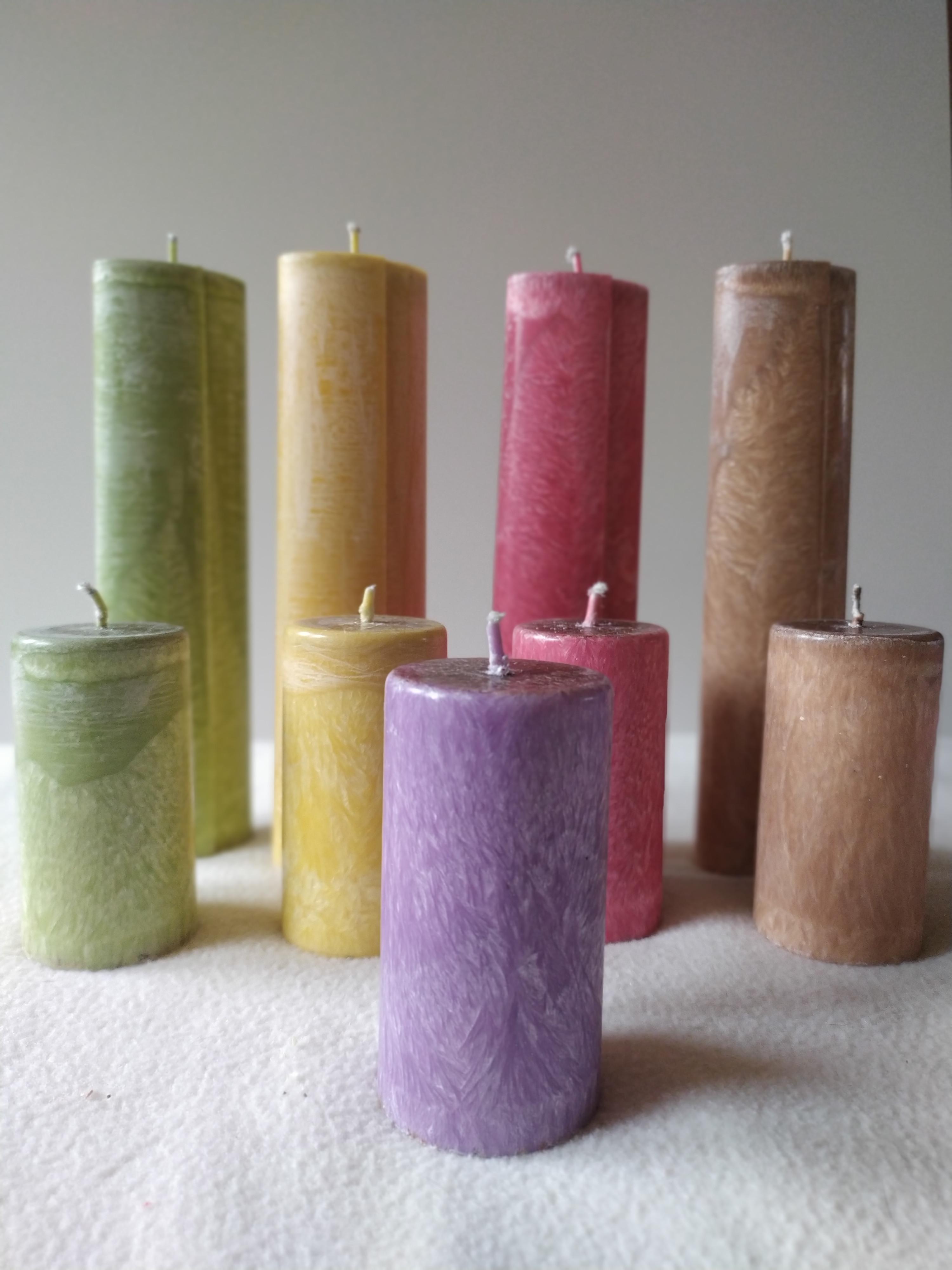 palmové svíčky